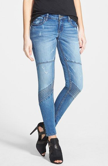 STS Blue Moto Skinny Jeans (Medium) available at #Nordstrom