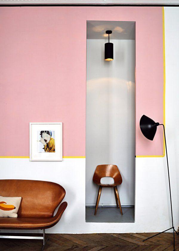 Décoration intérieure  le rose en 10 déclinaisons Living Room