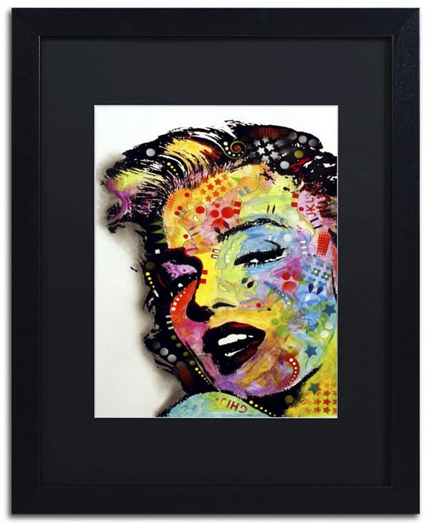 "/""Marilyn II/"" Canvas Wall Art Ready to Hang on The Wall"