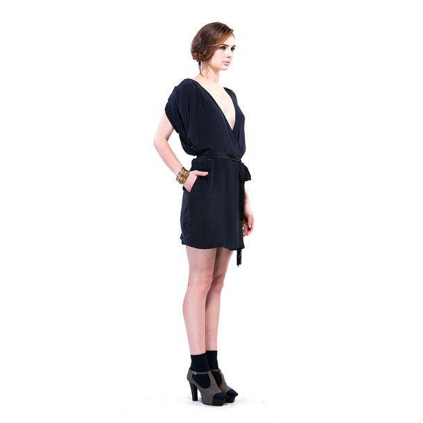 Lulu Dress Navy by Fala by Fala Chien   Fab.com