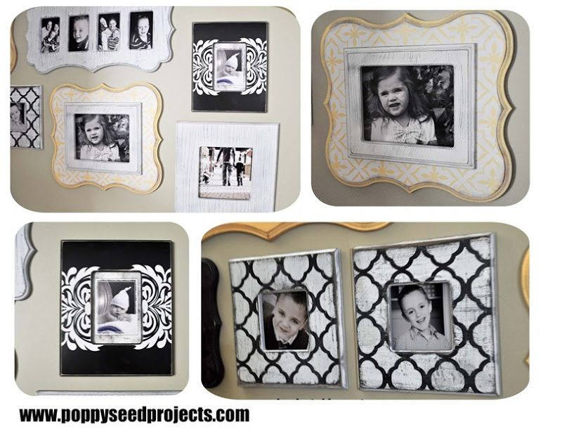 Step it Up Frame Gallery - Save hundreds with our DIY shaped frames