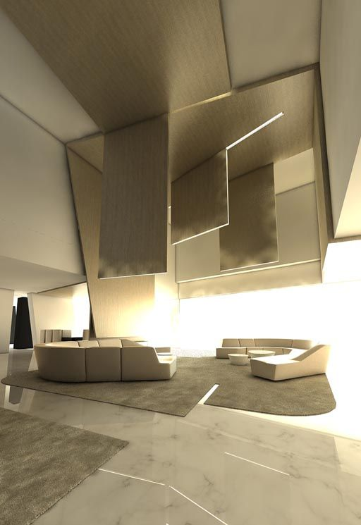 Interior Design Proposal Bu Architecture Studio A Cero For Residential Project In Beirut