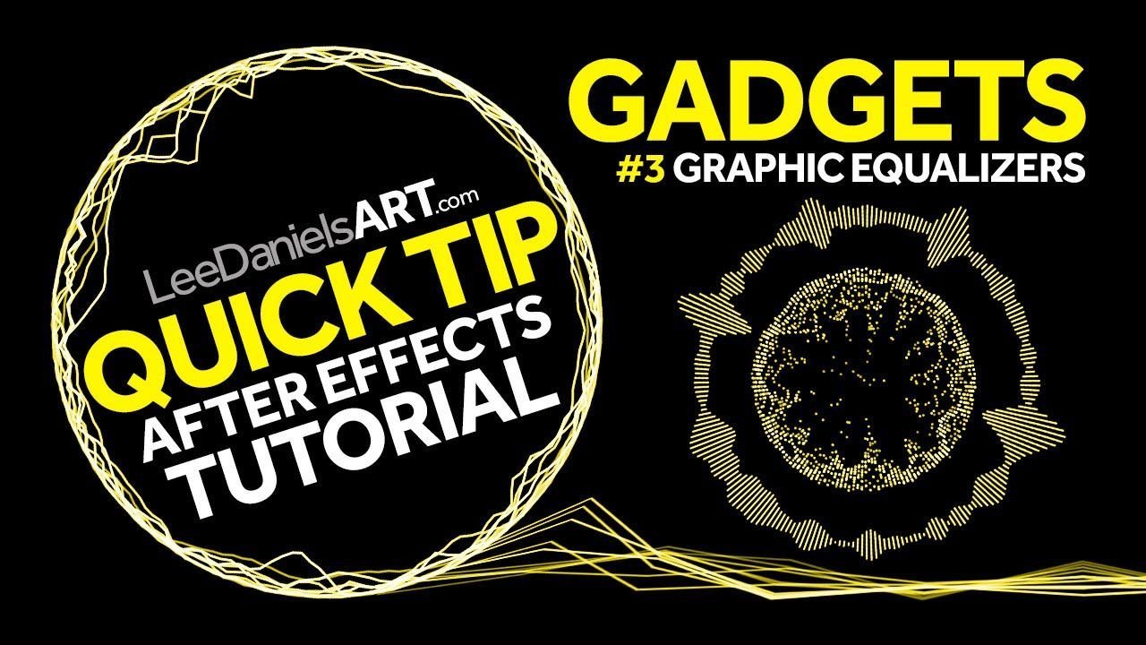 QUICK TIP | After Effects | GADGETS #3 | Graphic Equalizers