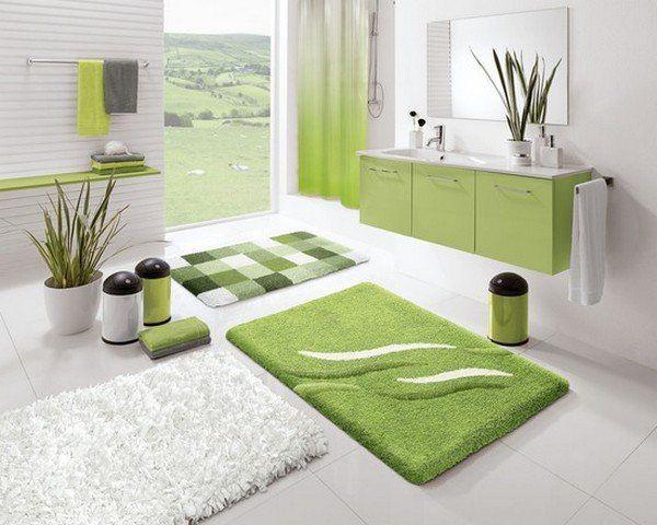 Green Bathroom Rugs Google Search Vibrant Bathroom Green Bath