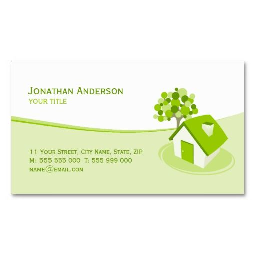 Real Estate Constructions Business Card Construction Business Cards Business Insurance Business