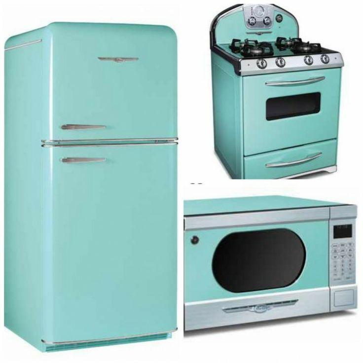 Turquoise Mint Aqua Retro Vintage Liances For The Kitchen