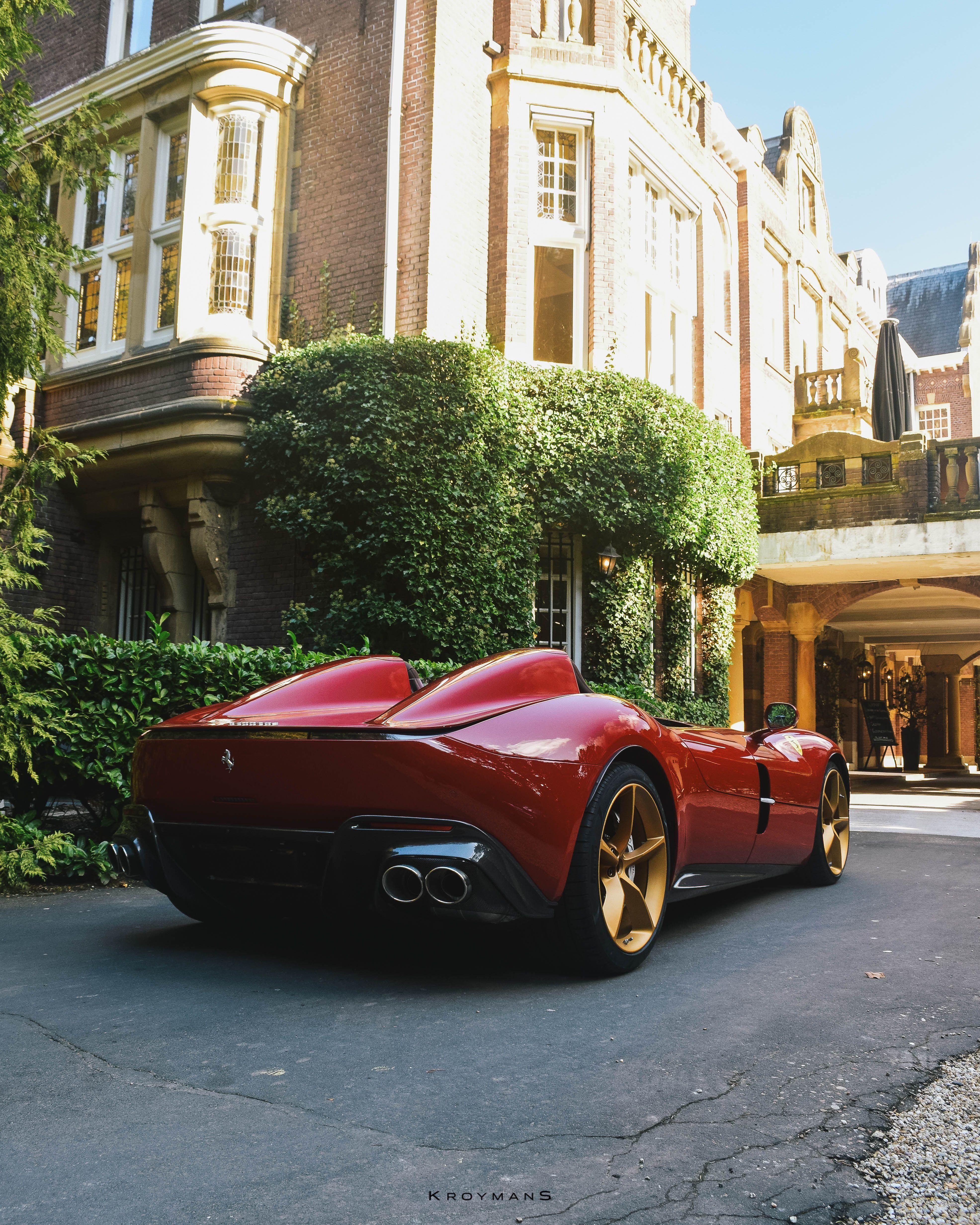 Ferrari Monza Sp2 In 2020 Wit Hout