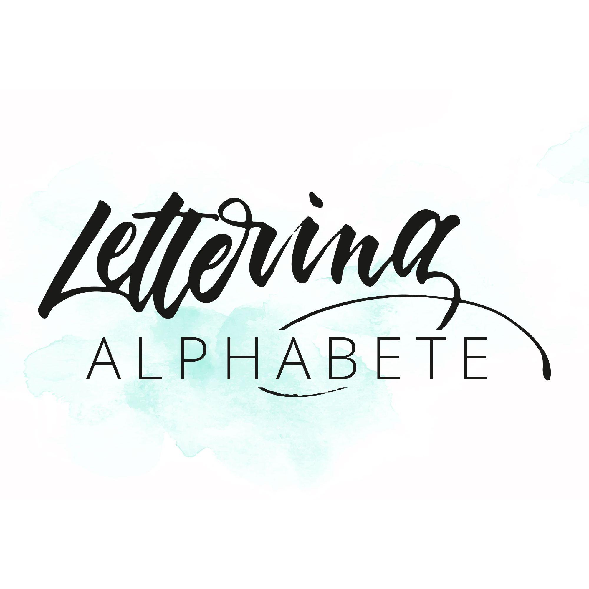 Lettering Alphabete Inspiration Fur Handgezeichnete Buchstaben