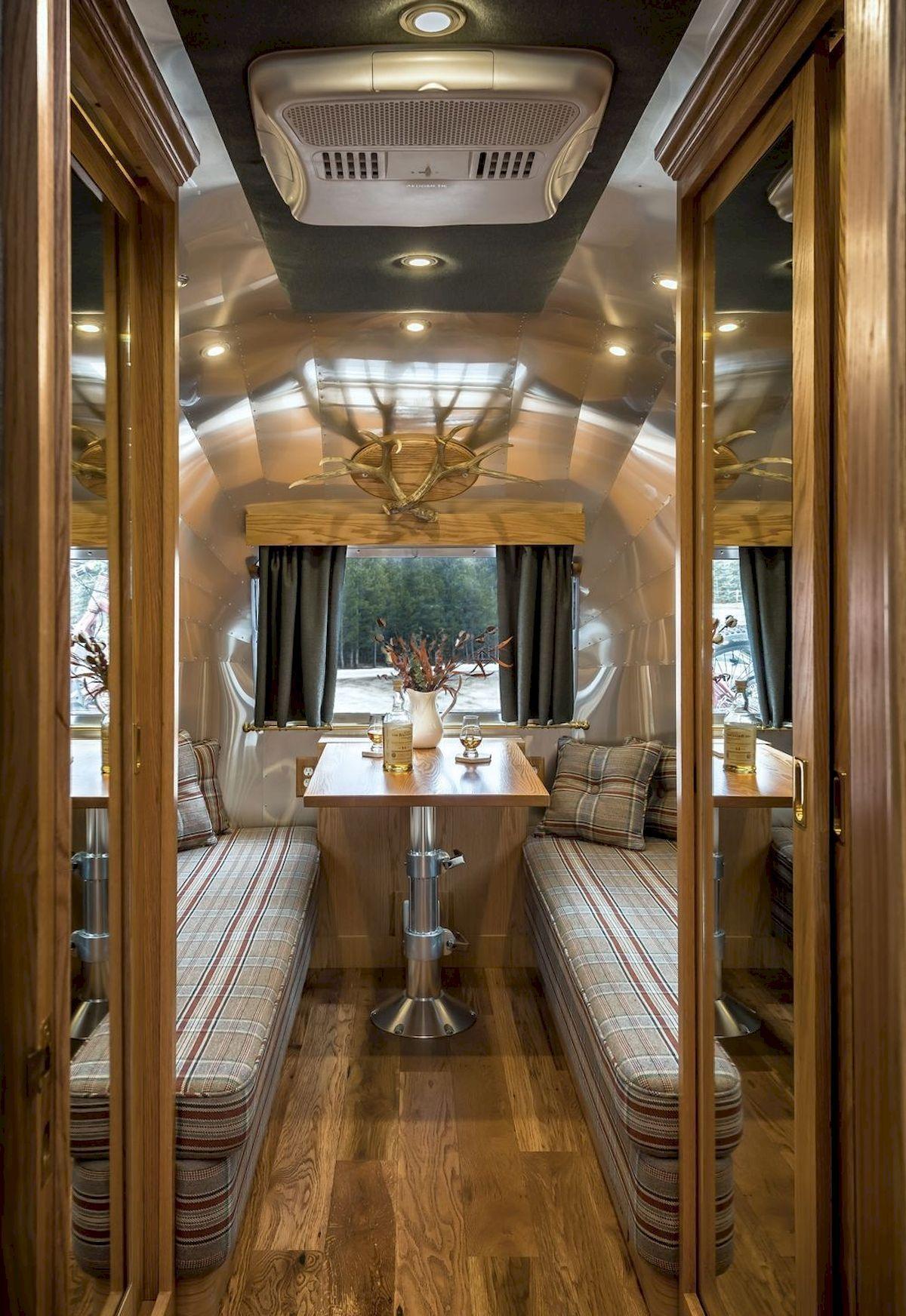 Amazing rv travel trailer remodels ideas airstream