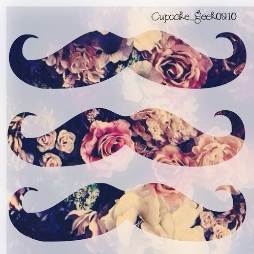 Mustache Wallpaper Mustache Wallpaper Cute Wallpapers Artwork