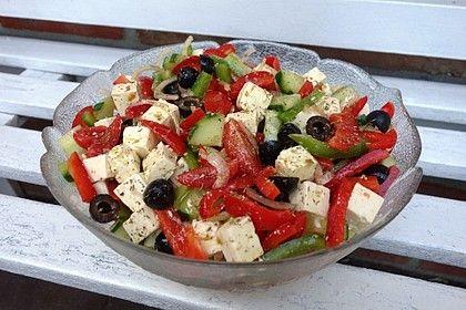 Griechischer Bauernsalat von celine2103   Chefkoch