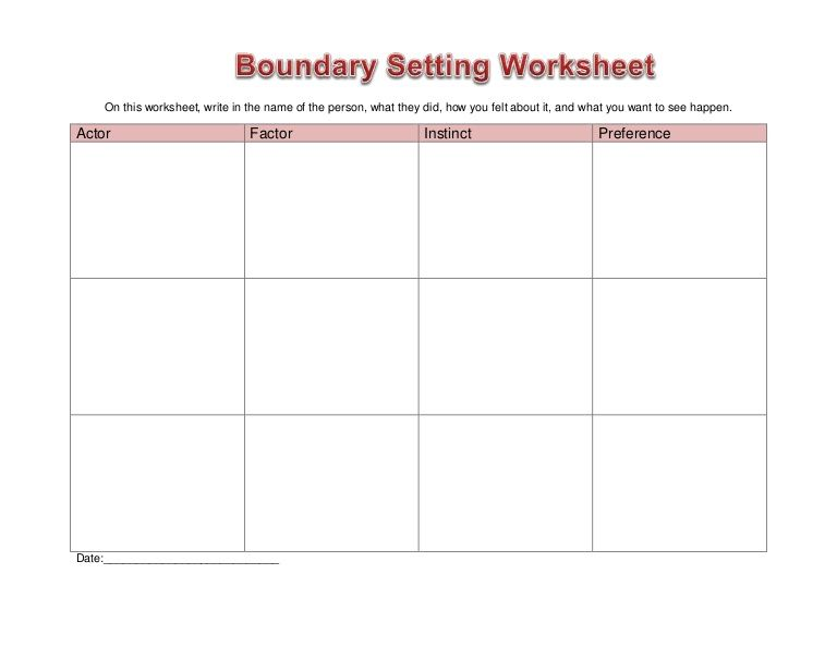 setting boundaries worksheet google search counsellor pinterest setting boundaries and. Black Bedroom Furniture Sets. Home Design Ideas