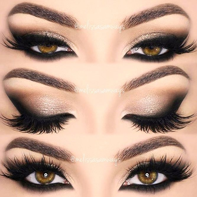 24 Terrific Makeup Ideas For Almond Eyes #makeupeyeshadow