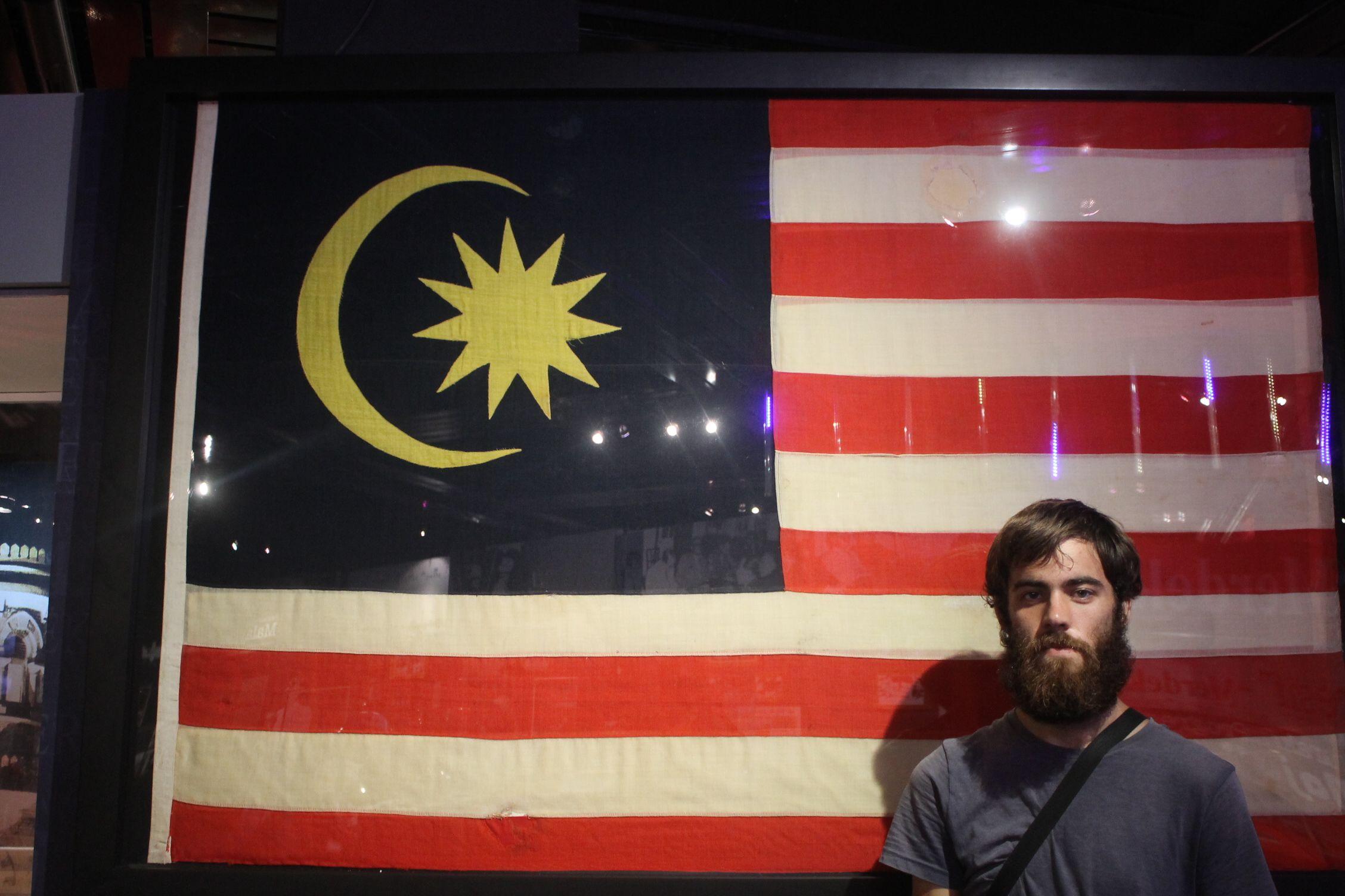 El Museo de Historia de Malasia tenía una exposición especial sobre la independencia
