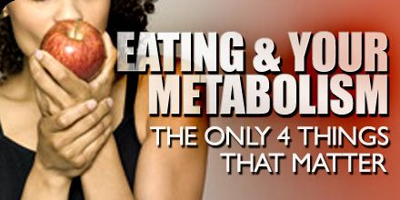 Eating & Your Metabolism: The Only 4 Things That Really Matter!