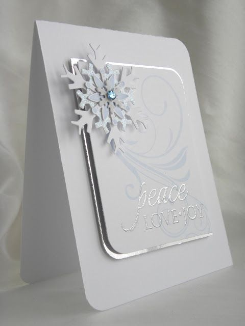 handmade christmas cards spellbinders - Google Search