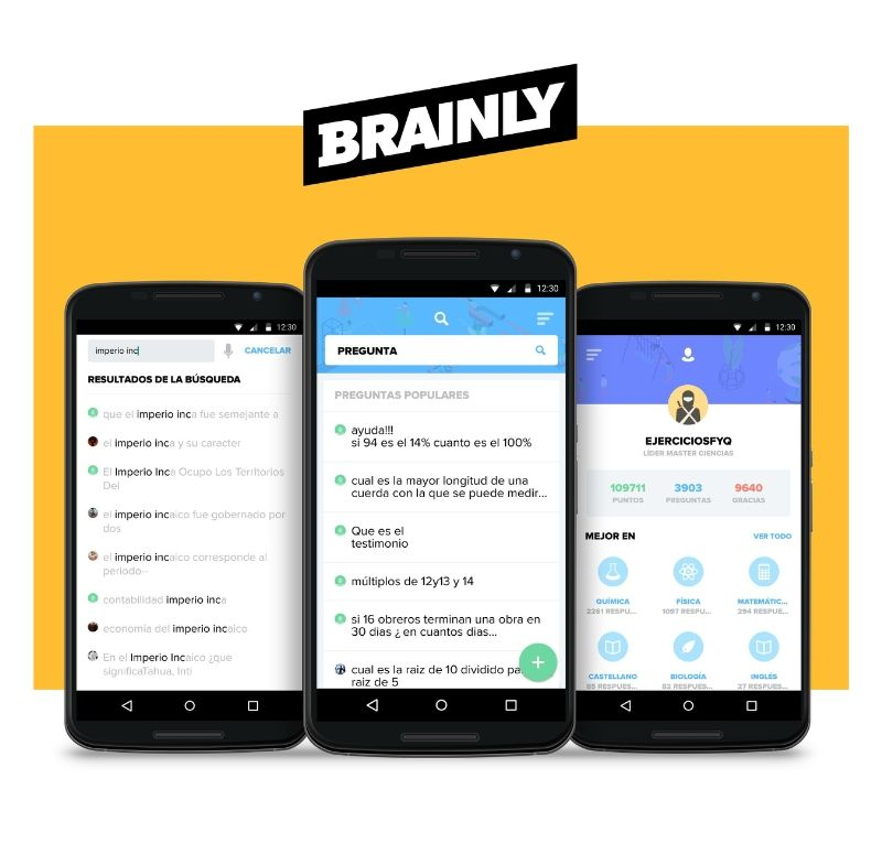 Brainly Lat Contribuye A La Base Conocimientos Global De Brainly App Educational Technology Learning App