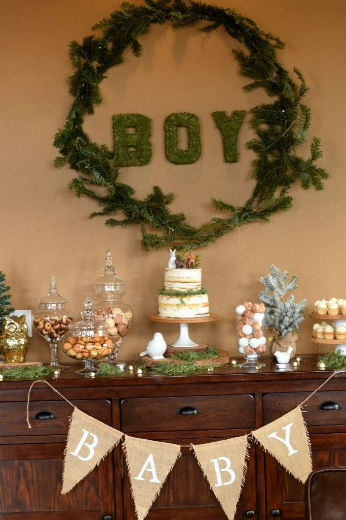 Woodland Baby Shower