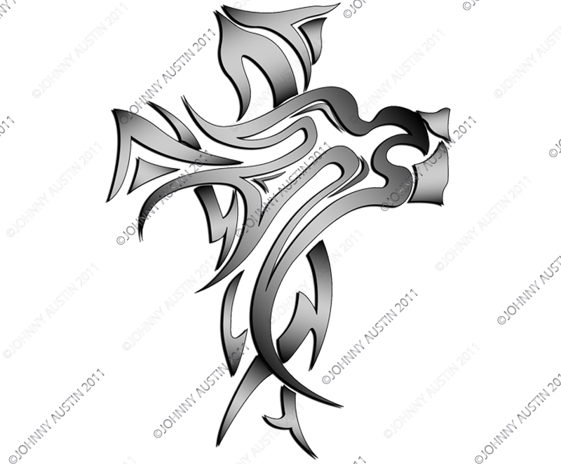 Holy Dove Tattoo | tribal illustration of a dove representing the holy spirit