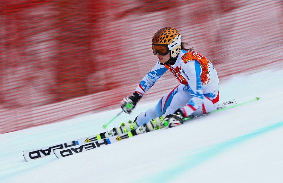 Alpine Skiing Women's Giant Slalom Anna Fenninger