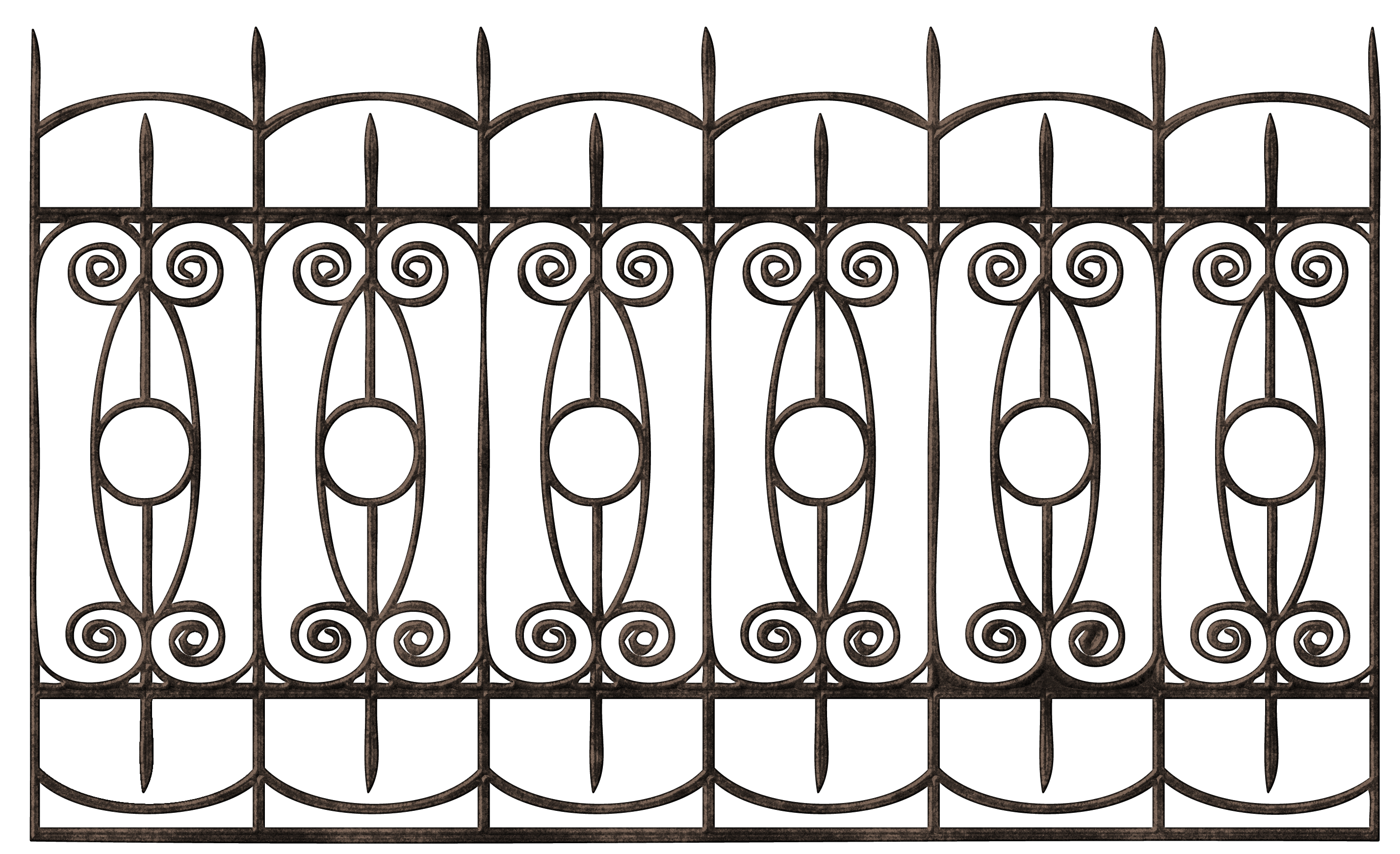 Iron Fence Png With Metal Fence Png Charleston Alu Fence Png Jpg 500 317 Iron Fence Metal Fence Iron Gates