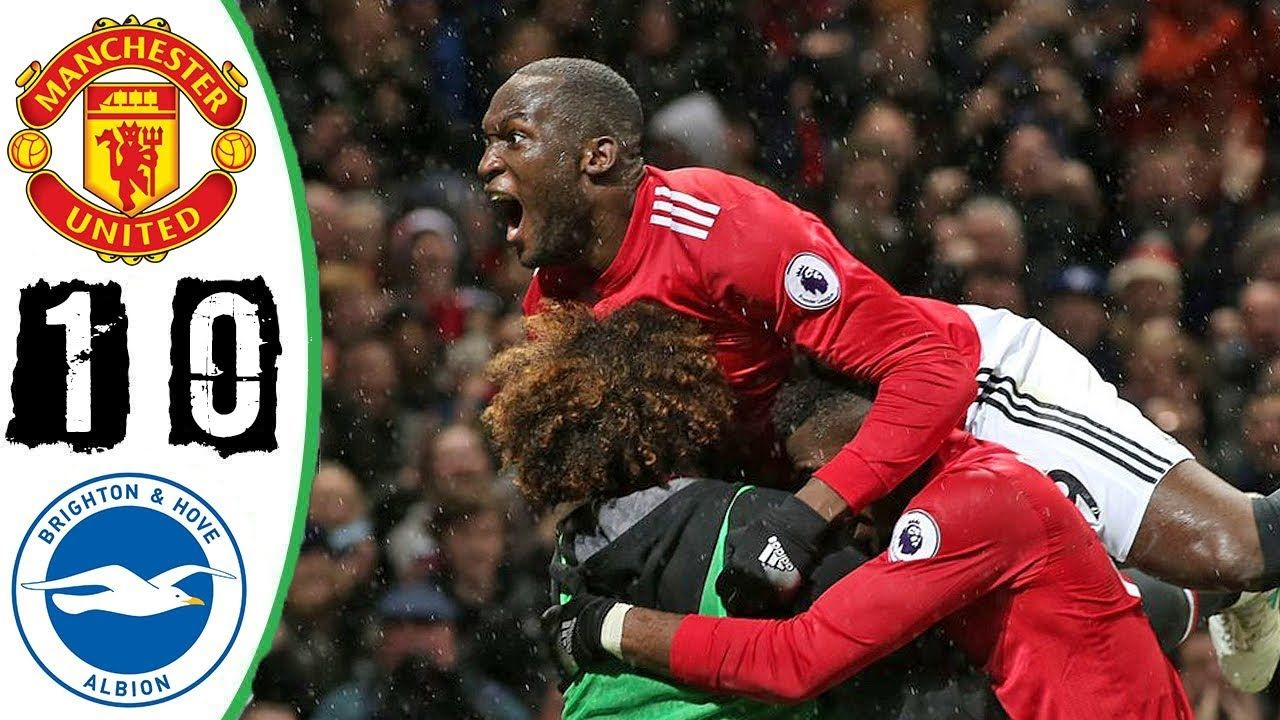 Awesome Manchester United Vs Brighton 1 0 All Goals Highlights 25 11 2017 Hd Manchester United The Unit Brighton