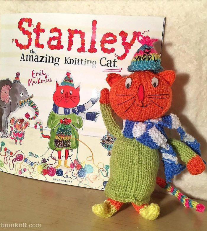 Free Knitting Pattern For Stanley The Amazing Knitting Cat Stanley