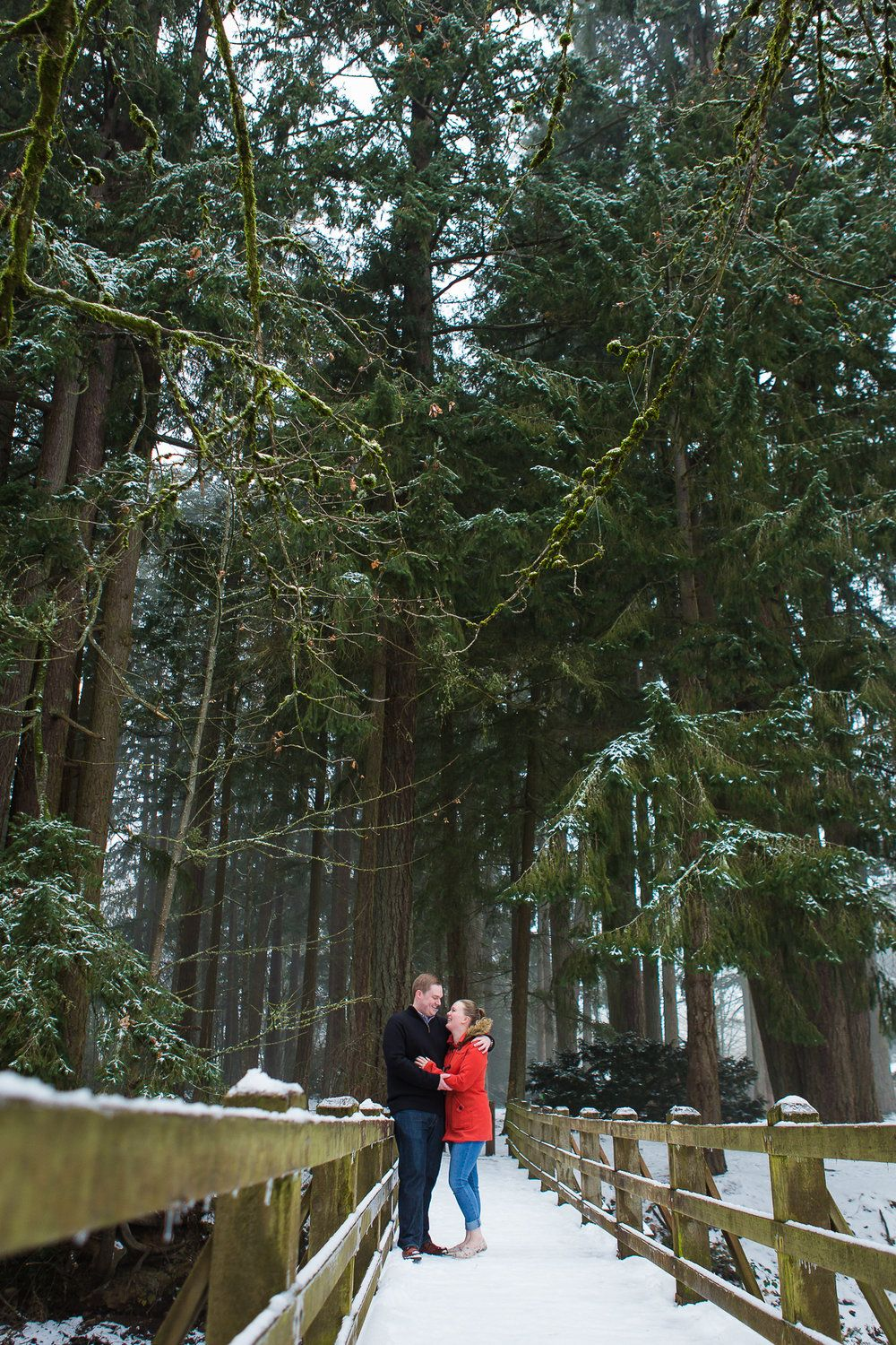 Wedding decorations garden december 2018 Korina  Thomas  Stayton Oregon Engagement Photographer  Winter