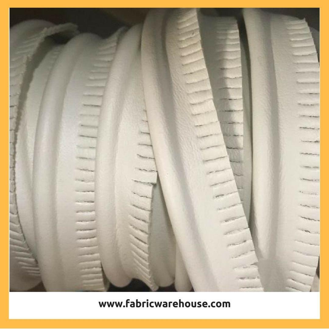 Marine Fabric Seaquest Chalk White Welt Marine Vinyl