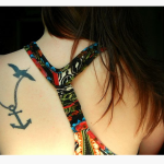 19 Bold Small Anchor Tattoos