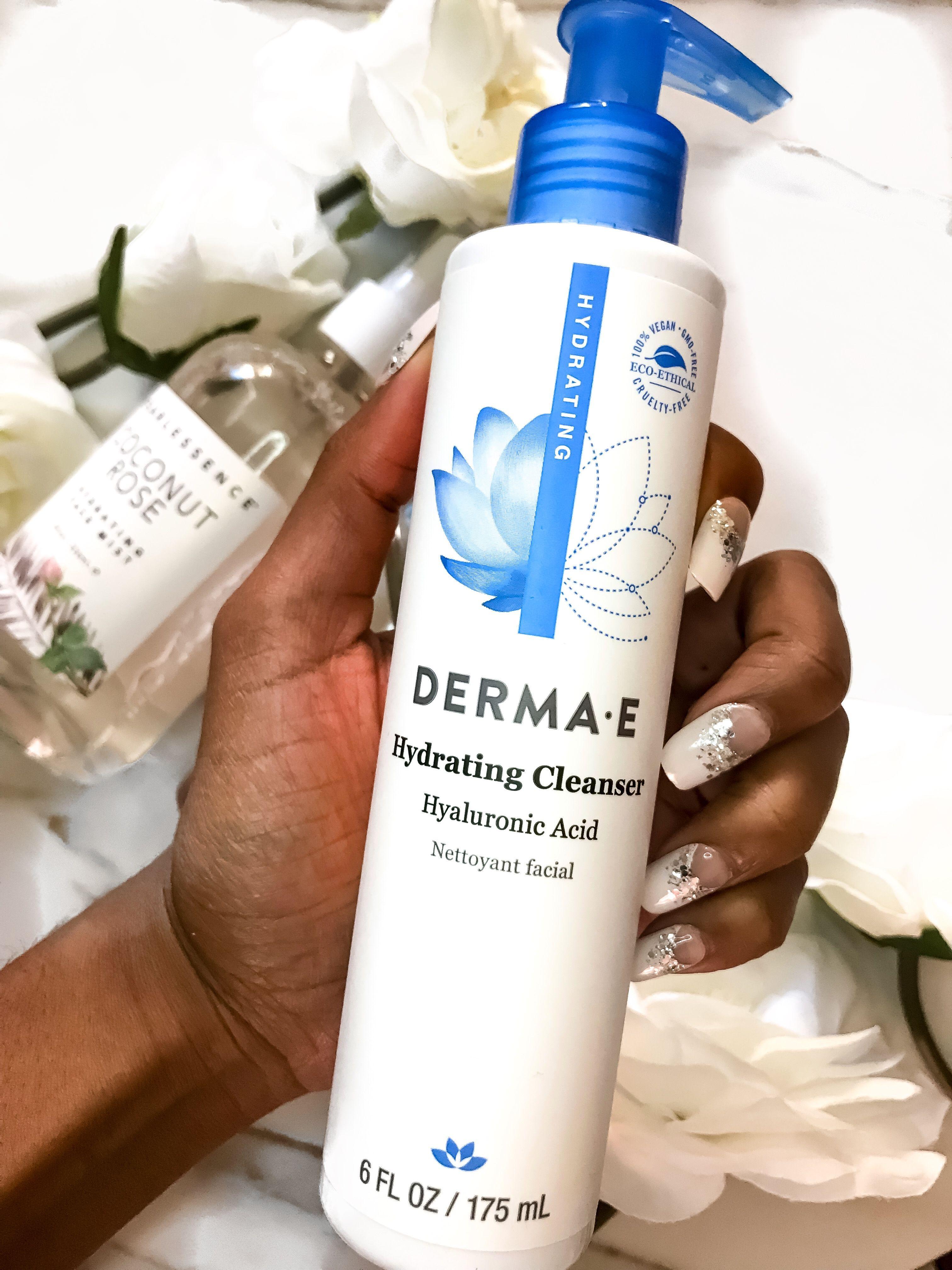 Derma E Hydrating Cleanser 💙 dermae skincare
