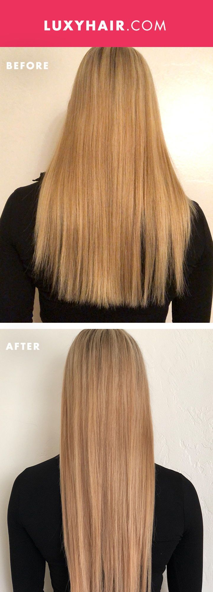 Luxy Hair Extensions 120g Vs 160g Hairstly