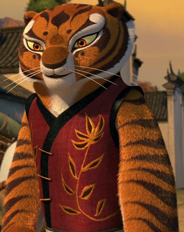Картинки тигрица из кунг-фу панда