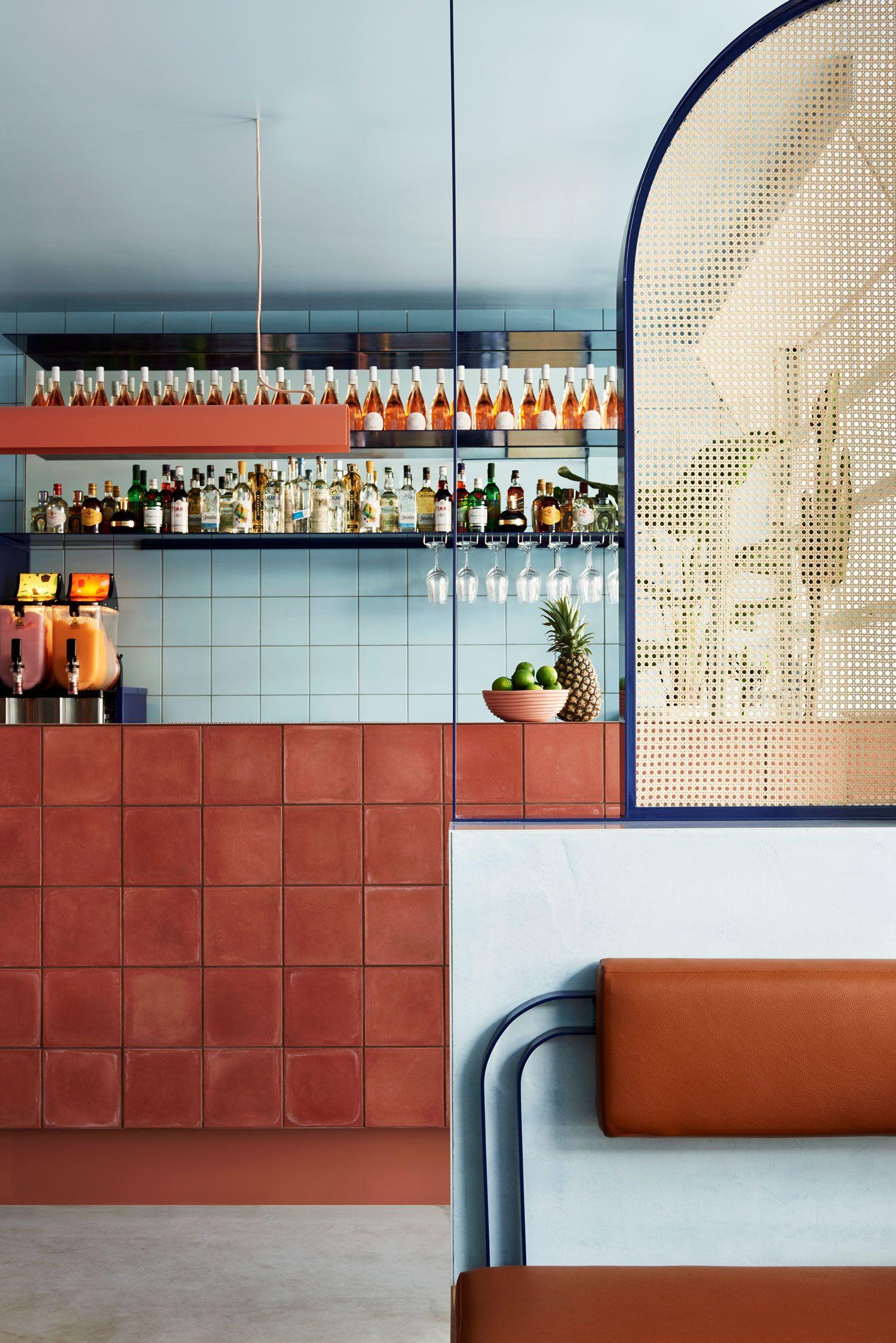 Studio Esteta Designs Interior of Fonda Bondi | Mexican street food ...