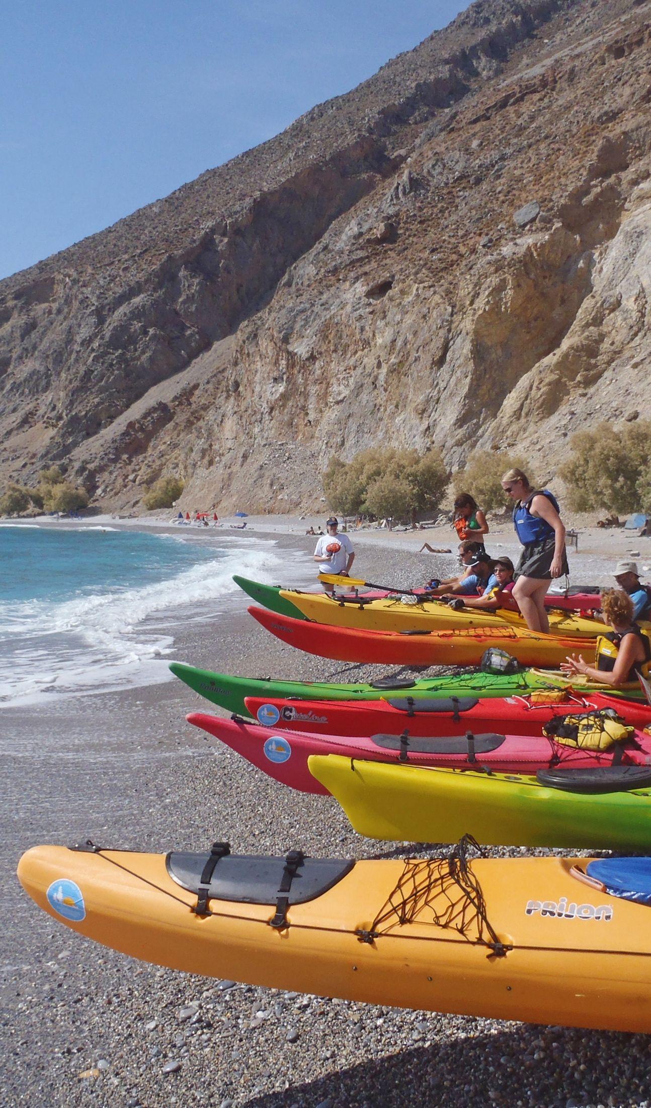 Kayaking in Greece  Kayaking Greek vacation Sea kayaking
