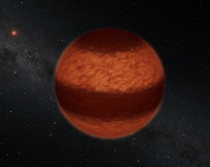 95 New Cool Brown Dwarfs In The Sun S Neighborhood Earthsky 8 23 20 Artist S Concept Of The Brown Dwarf Luhm Planetary Science Rogue Planet The Neighbourhood