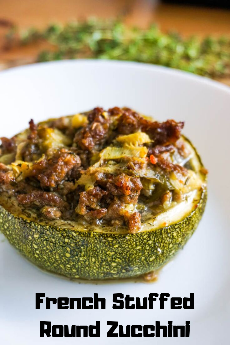 French Stuffed Baked Round Zucchini Shine Little House Recipe In 2020 Zucchini Healthy Meals To Cook Healthy Family Dinners