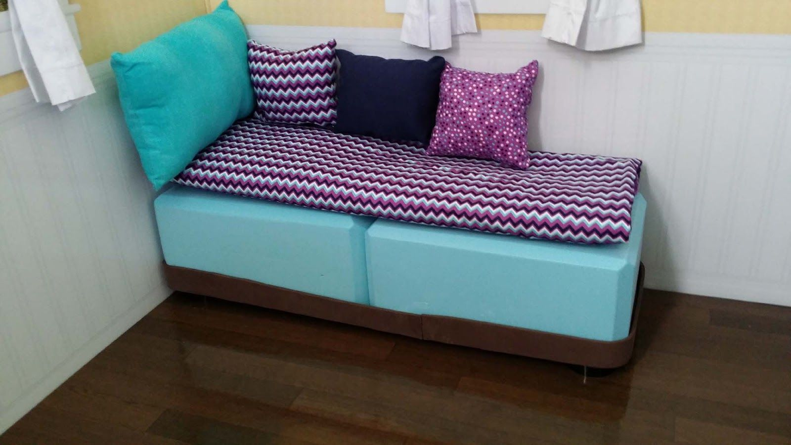 Diy american girl doll furniture - American Girl Doll Crafts And Fun Craft Make A Doll Chaise Lounge Chair