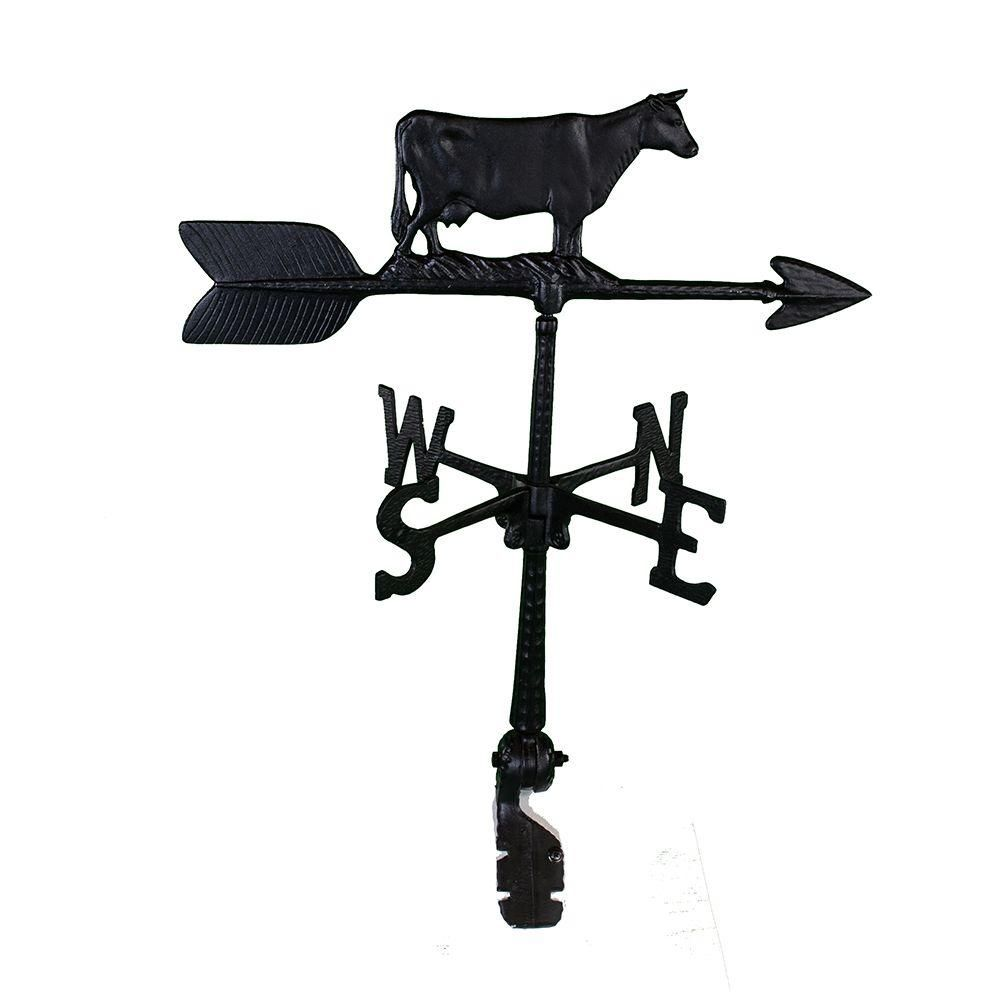 Montague Metal Products 24 in. Aluminum Cow WeathervaneWV