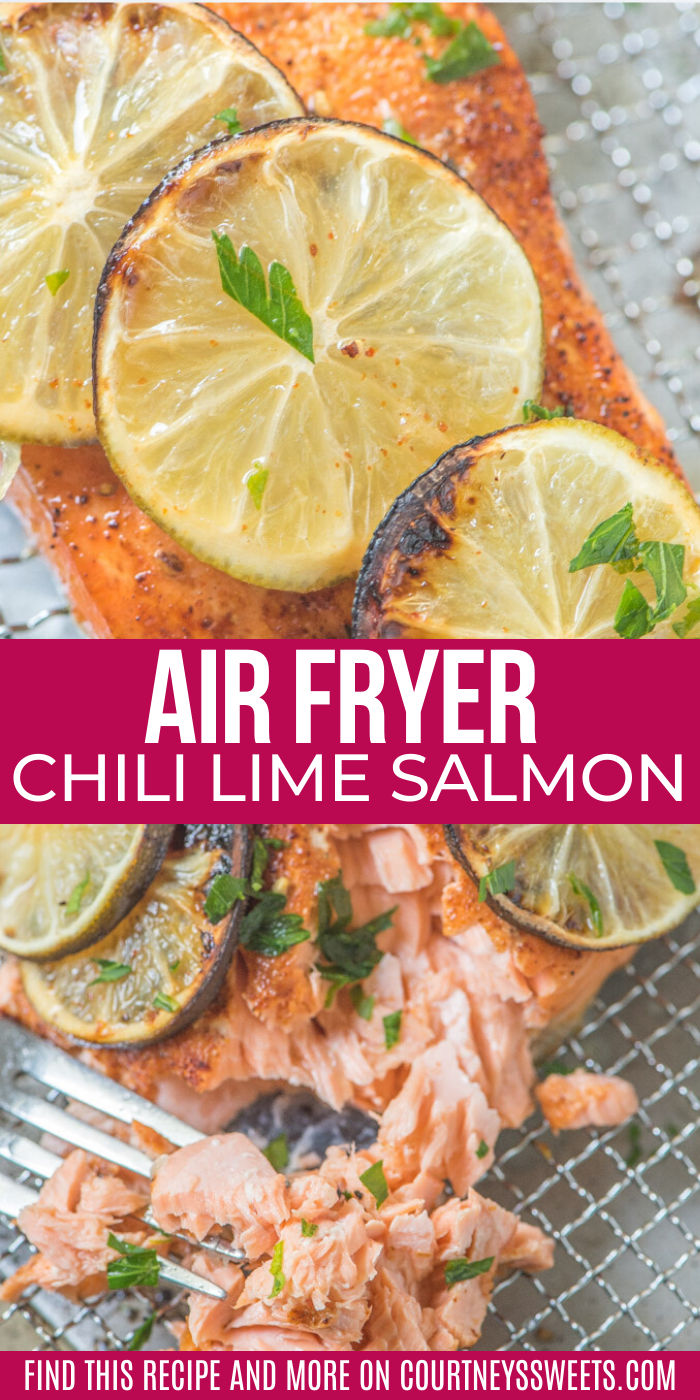 This Air Fryer Salmon recipe is a family favorite! It's