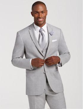 2988394cccf9 Joseph Abboud Grey Tuxedo - Framed Notch Lapel - Tuxedo Rentals by Men s  Wearhouse