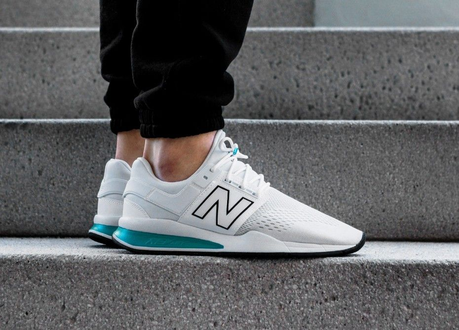 detailed look 0dcc8 fd2cb New Balance // New Balance MS247TW *Tritium Pack* (White ...