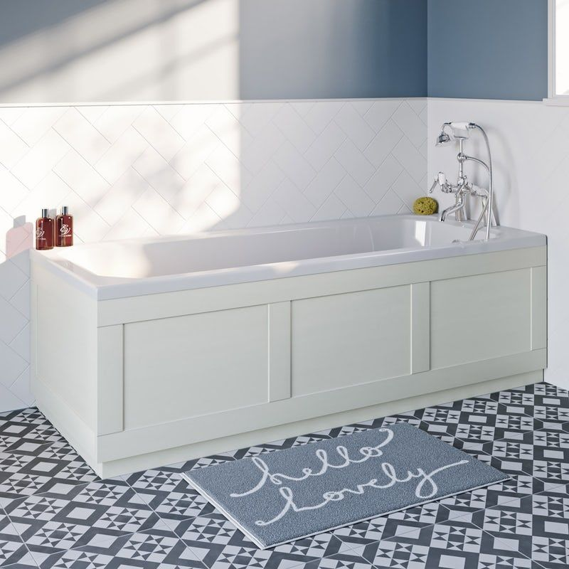 Reeves Newbury White Bath Front Panel