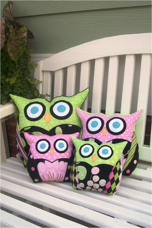 Sew Wise Owl Pillow PDF Pattern | Owl pillow, Wise owl and Owl