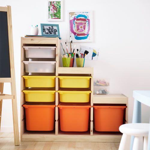 Ikea Trofast Inspiration Montessori Meuble Rangement