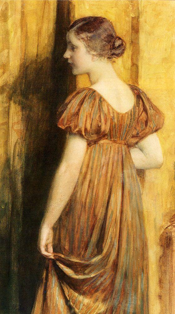 An Elegant Lady (Date unknown) by Nicholaas Van Der Waay (1855-1936).