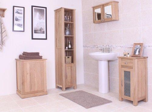bonsoni mobel oak laundry bin the laundry basket is part of our stylish oak bathroom range
