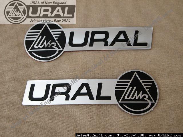 "Photo of Fuel Tank Badge ""Ural"""
