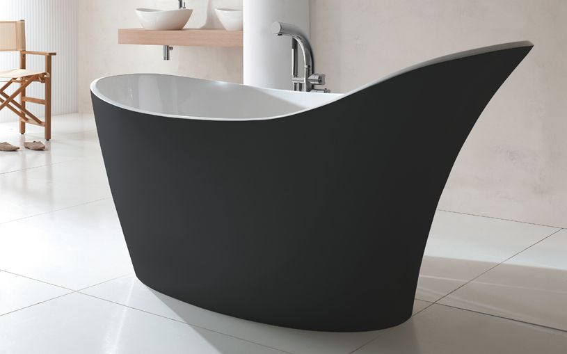 Amalfi Freestanding Slipper Bath Victoria Albert Baths Uk
