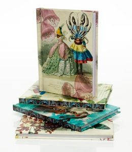 These notebooks designed by Christian Lacroix are fab! Tres chic!